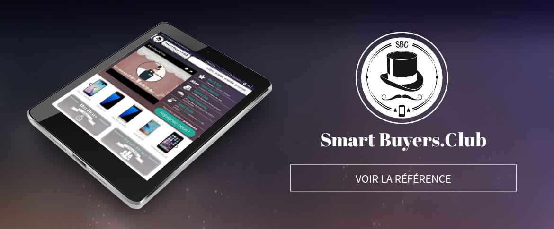 Référence e-commerce Prestashop Smart Buyers Club
