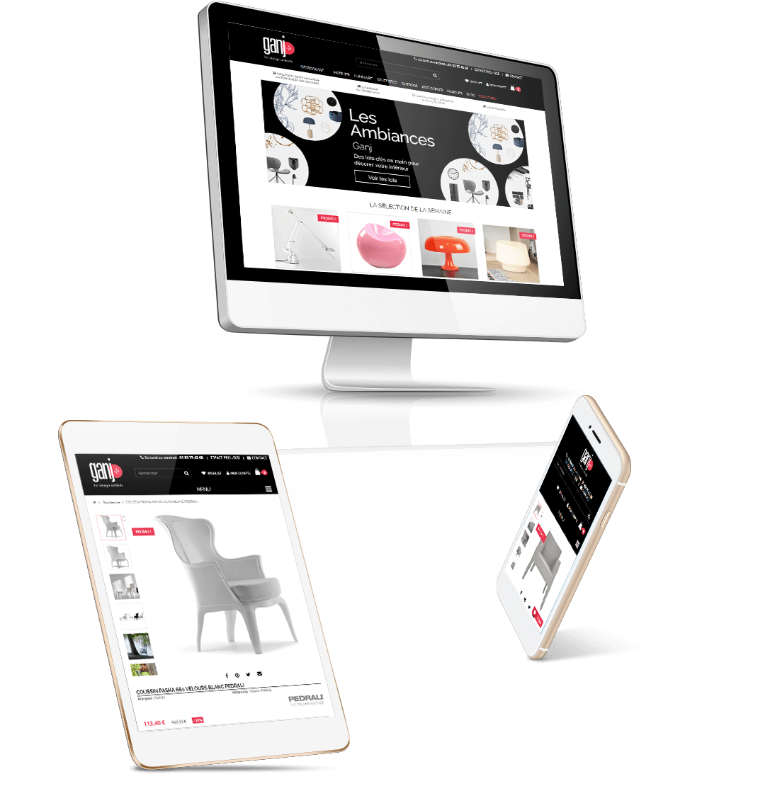 boutique prestashop meuble de designers