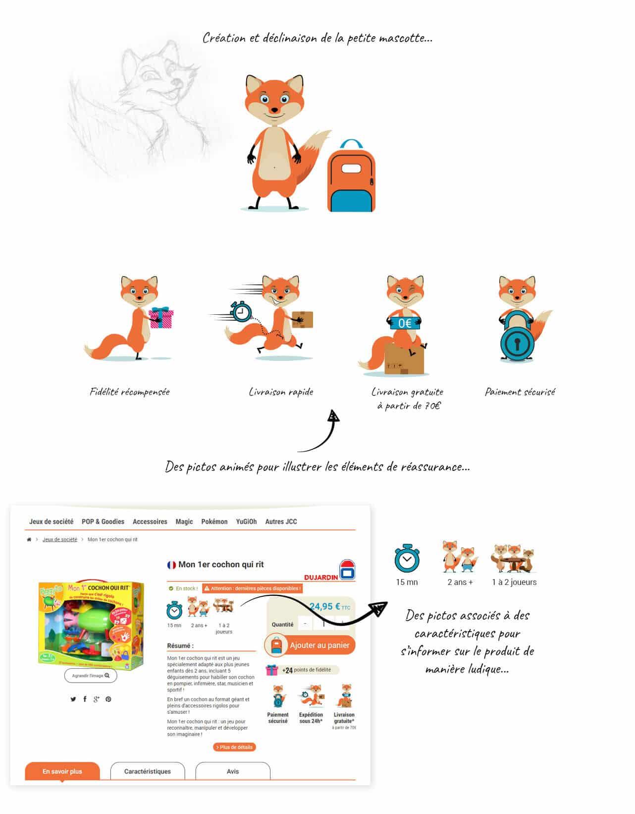 site e-commerce PrestaShop jeux de société Goupiya