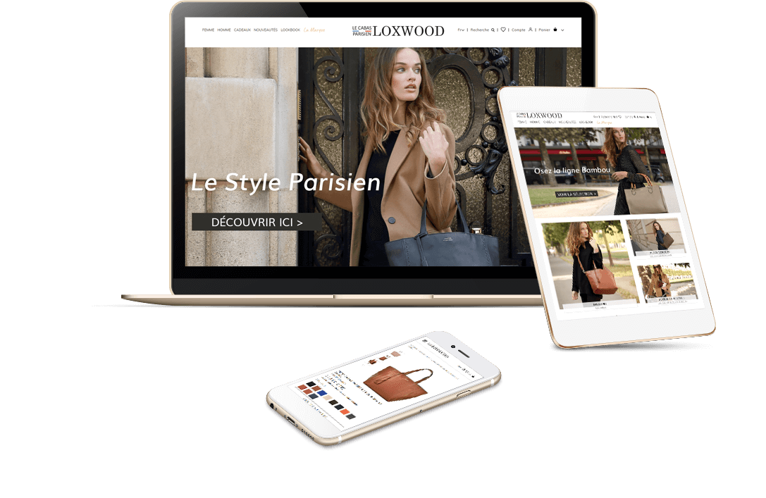 site e-commerce PrestaShop mode luxe Loxwood