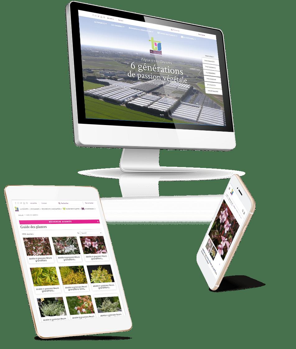 e-commerce BtoB Pépinière Travers