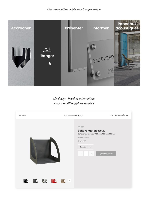 Référence e-commerce ClestraShop