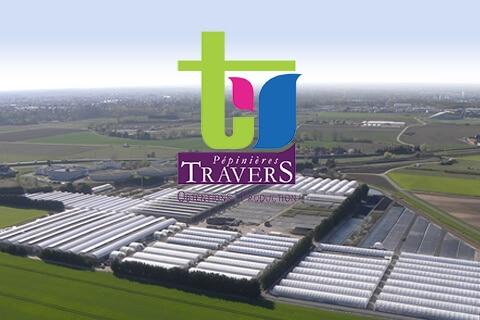 Pépinière Travers - référence site e-commerce