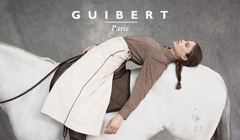site e-commerce maroquinerie de luxe - Guibert paris