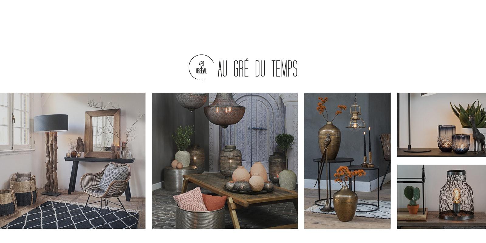 création site e-commerce Au Gré Du Temps