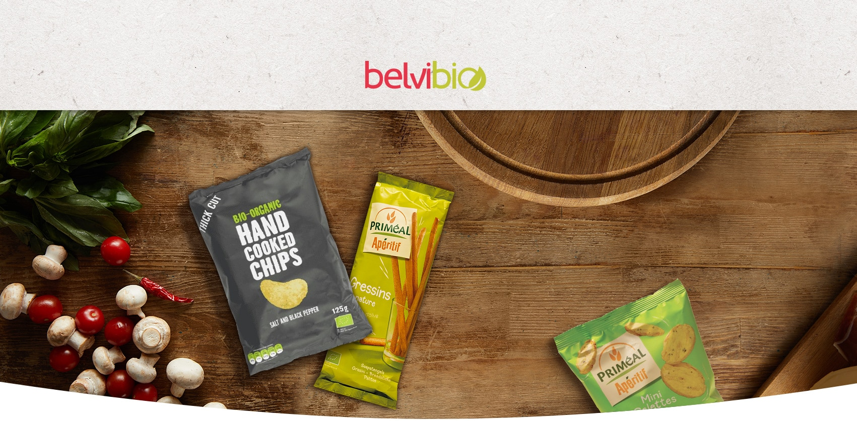 E-commerce épicerie bio Belvibio